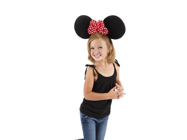 Oversized Minnie Ears Costume Headband Child One Size