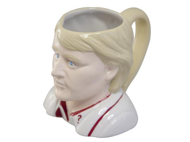 Doctor Who 5th Doctor Peter Davison Ceramic 3D Toby Jug Mug