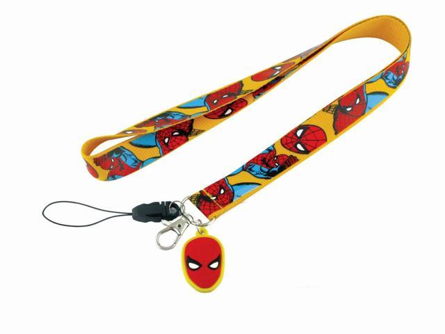 Marvel Spider-Man Lanyard With Soft Touch Dangle