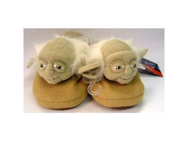 Star Wars Slippers Yoda Large 10.5/11