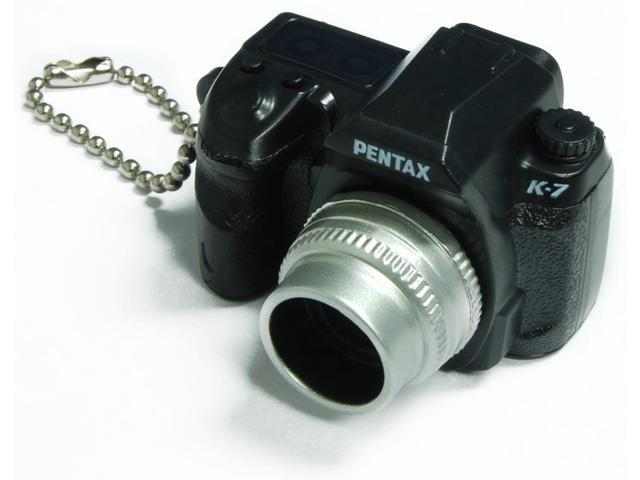Pentax Capsule Mini Camera Keychain K-7 Black Camera
