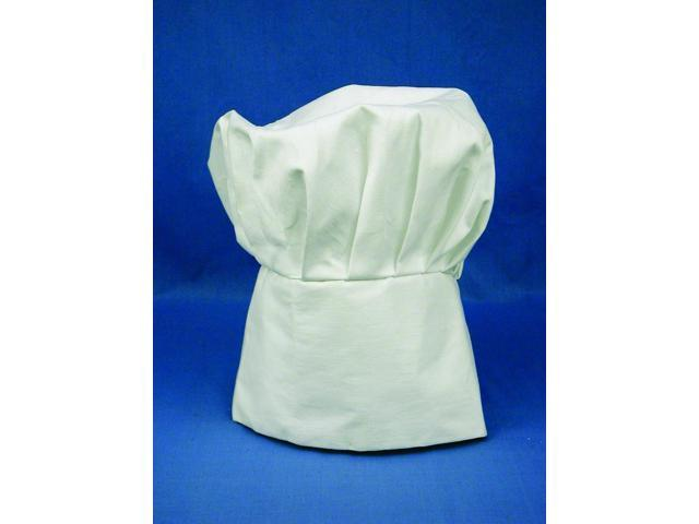 White Costume Chef Hat One Size