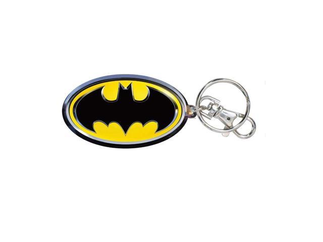 DC Comics Batman Logo Colored Key Ring