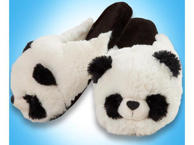 My Pillow Pets Panda Slippers Small - Newegg.com