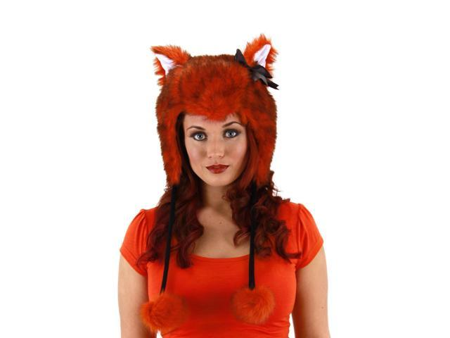 Red Fox Costume Laplander Hat Adult One Size