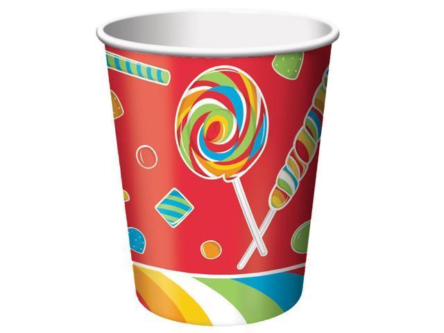 8 Pack 9Oz Cups Sugar Buzz