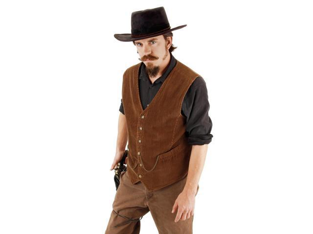 Western Outlaw Costume Hat Adult One Size Fits Most
