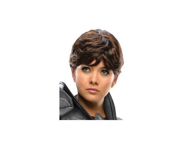 Superman Man Of Steel Faora Costume Wig Adult One Size