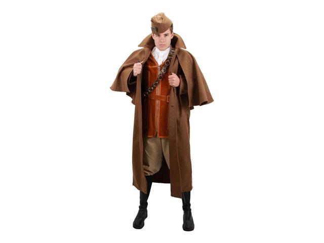 Steampunk Inverness Brown Costume Cape Adult One Size