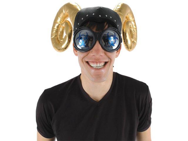 Biohazard Goggles Costume Accessory Adult One Size