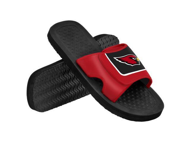 Arizona Cardinals NFL Men's Shower Slide Flip Flops Small