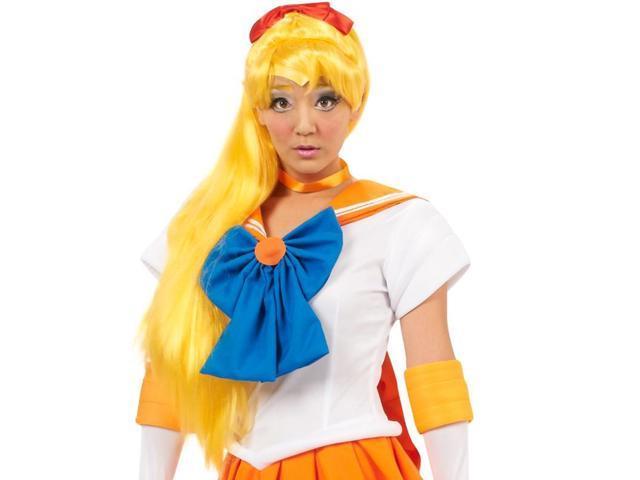 Sailor Moon Venus Costume Wig One Size