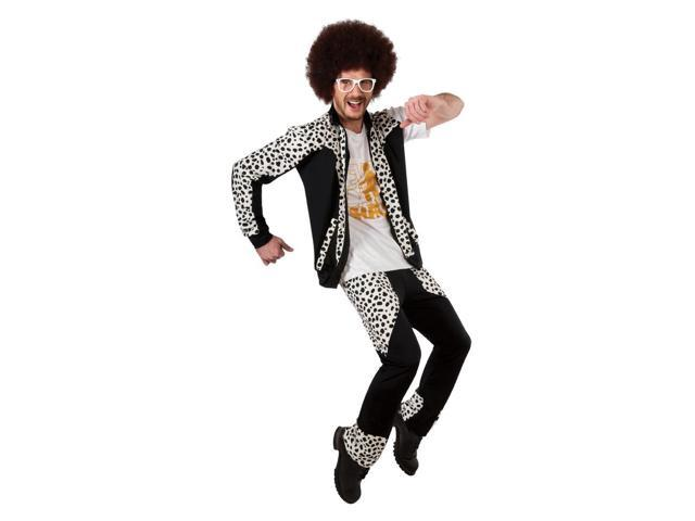 LMFAO Red Foo Costume Wig Adult One Size