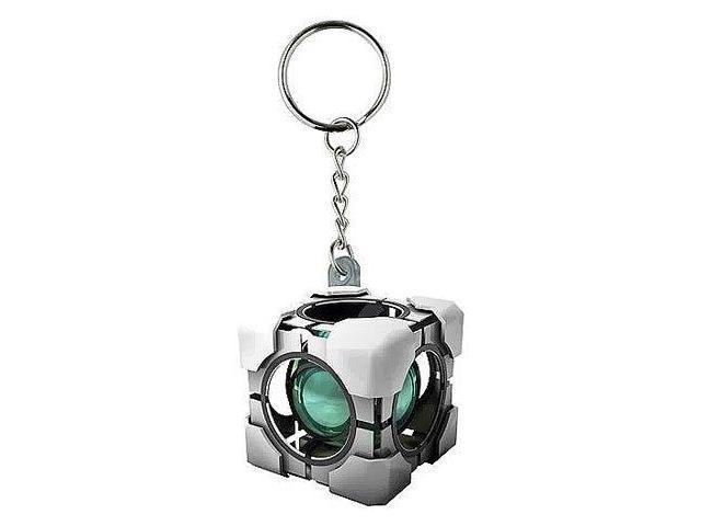 Portal Refracting Box Vinyl Key Chain
