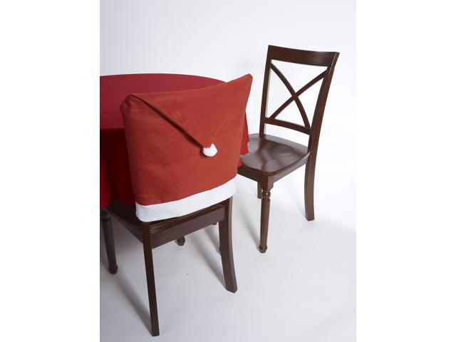 Santa Hat Chair Cover One Size