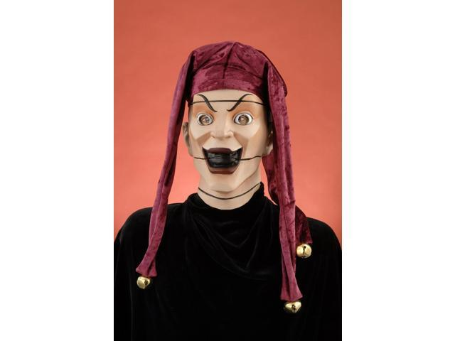 Puppet Master Jester Mask & Hat Adult