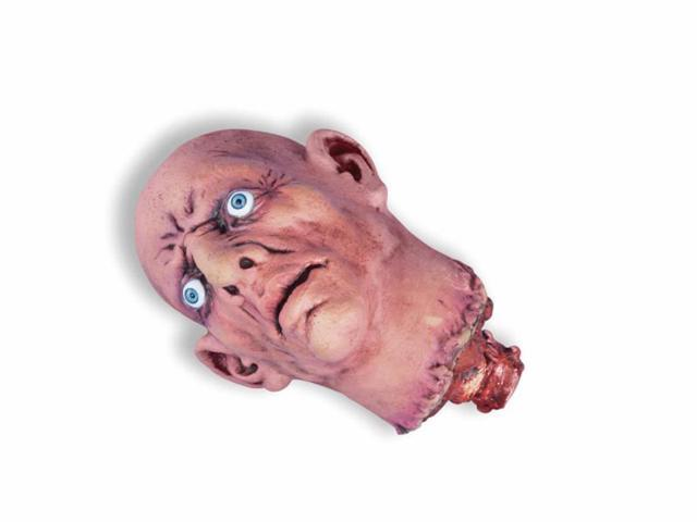 Small Open Eye Cut Off Bloody Scary Head Halloween Prop