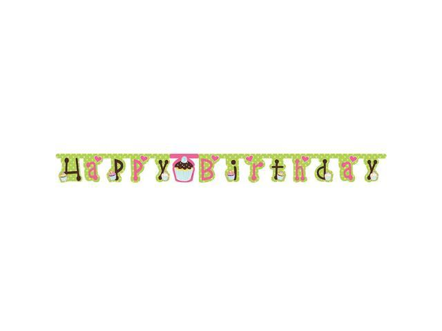 Jointed Banner Sweet Treats Jointed Birthday Banner