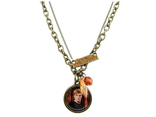 The Hunger Games Movie Necklace Double Chain