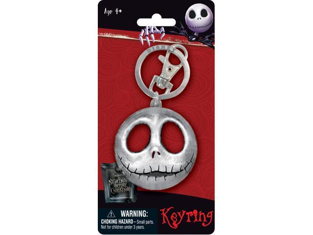 The Nightmare Before Christmas Jack Pewter Key Ring