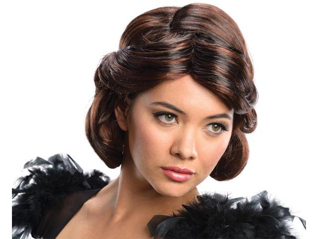 Oz The Great And Powerful Evanora Brunette Costume Wig Adult One Size