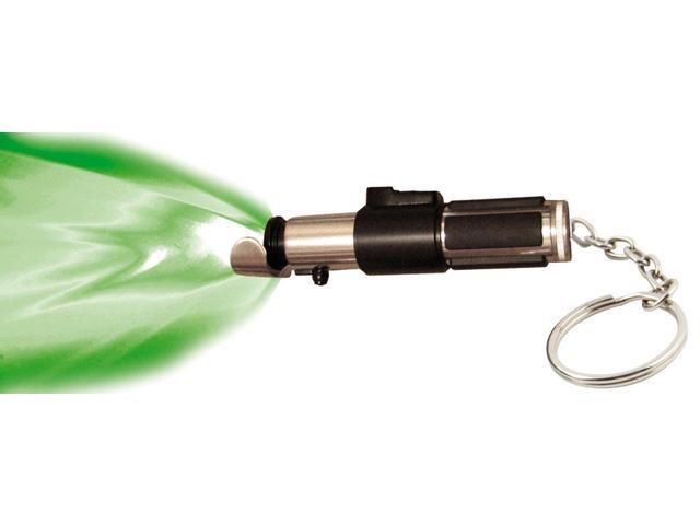 Star War Mini Lightsaber Flashlight Key Chain: Yoda