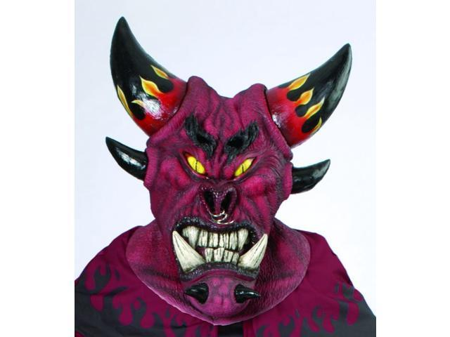 Dark Diablo Deluxe Large Mask Adult Size
