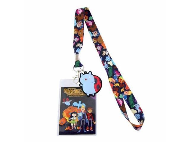 Bravest Warriors Character One Size Lanyard