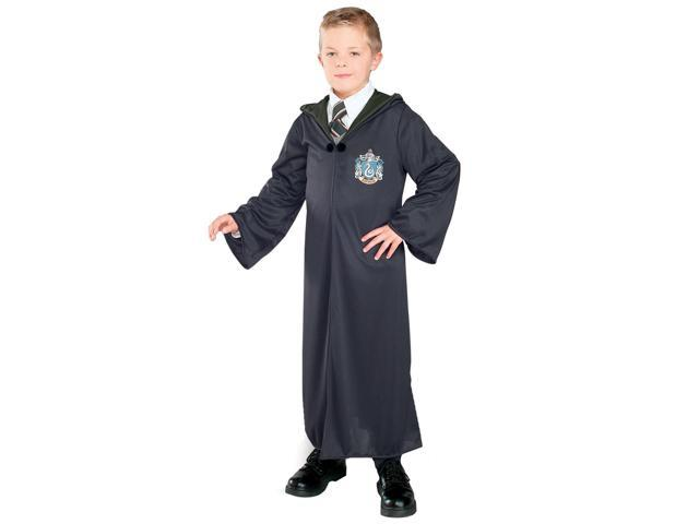 Harry Potter & The Deathly Hallows Slytherin Robe Costume Child Small