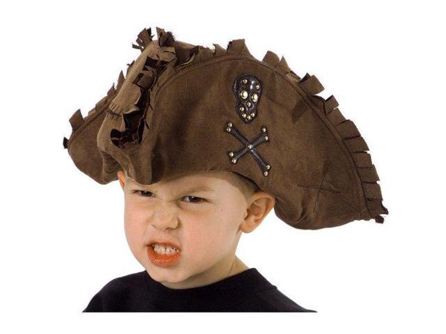Pirate Hat Tattered Brown - Kid Size