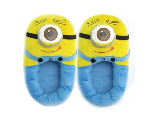 Despicable Me 2 One Eyed Minion Stewart Child Slippers