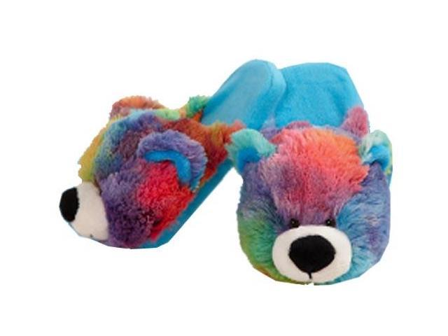 My Pillow Pets Peaceful Bear Slippers Medium Child Size 1 ...