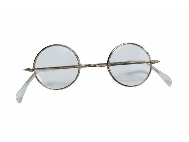 Round Granny Costume Glasses One Size