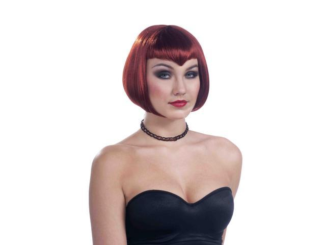 Auburn Vampiress Adult Costume Wig One Size