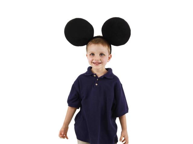 Oversized Mickey Ears Costume Headband Child One Size