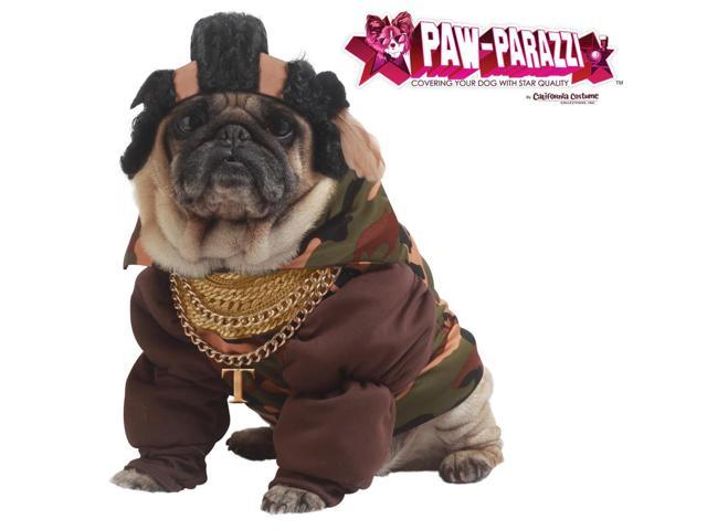 Paw Parazzi Pity The Fool Dog Pet Costume X-Small