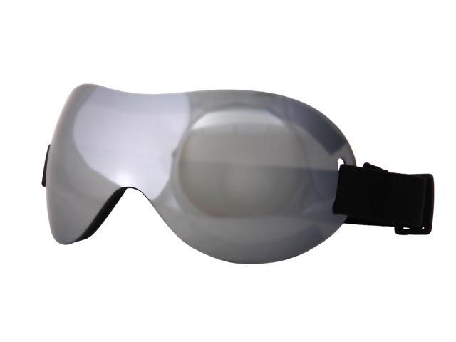 Motoko Costume Goggles Adult: Silver One Size