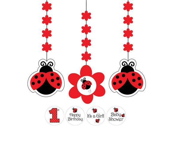 Fancy Hanging Cutouts Ladybug Fancy