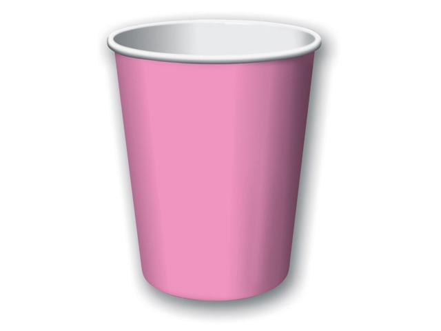 Touch Of Color 24 Count 9oz Hot/Cold Cups Candy Pink