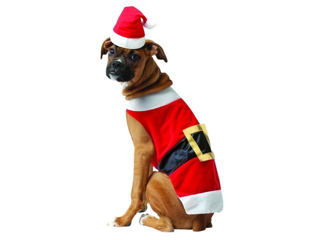 Santa Claus Pet Dog Costume Large