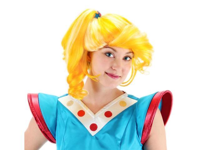 Rainbow Brite Deluxe Costume Wig Adult One Size