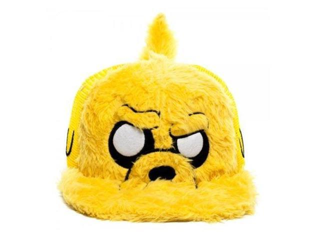 Adventure Time Jake Furry Snapback Hat One Size Fits Most