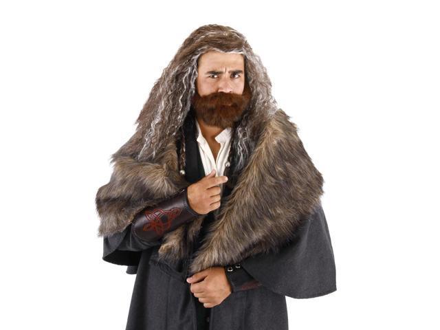 The Hobbit Thorin Oakenshield Costume Beard & Wig Set Adult One Size