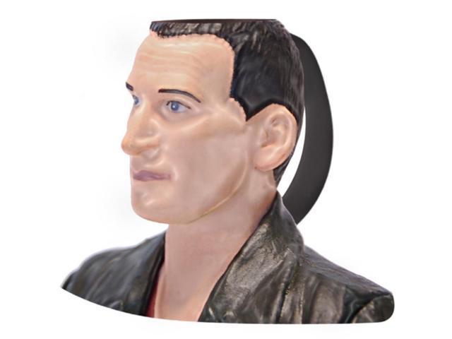 Doctor Who 9th Doctor Christopher Eccleston Ceramic 3D Toby Jug Mug