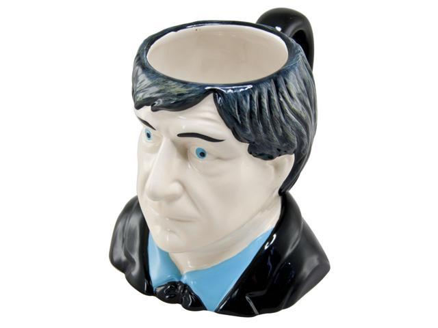 Doctor Who 2nd Doctor Patrick Troughton Ceramic 3D Toby Jug Mug