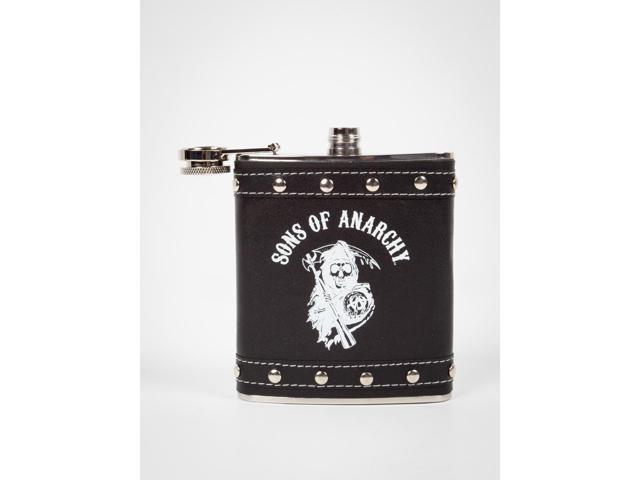 Sons Of Anarchy Logo Studded Flask