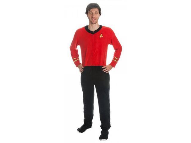 Star Trek Men's Red Union Suit Medium
