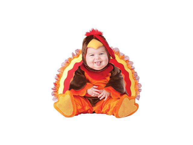 Lil' Gobbler Turkey Costume Infant 0-6 Months