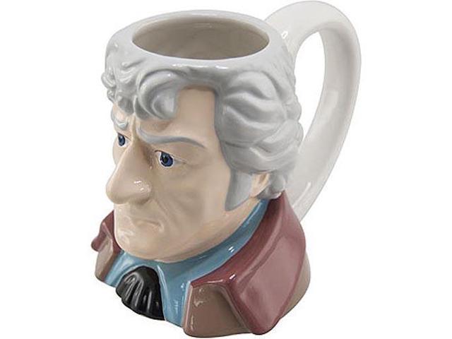Doctor Who The Third Doctor Ceramic 3D Mug Jon Pertwee