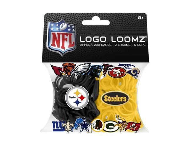 Pittsburgh Steelers Logo NFL Loom Bandz Filler Pack